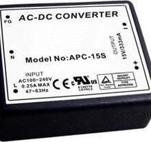APC Series – 05W Single Output Encapsulated AC-DC Converter