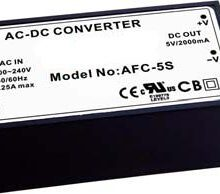 AFC Series – 10W Single Output Encapsulated PCB Mount PSU