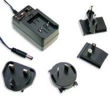 GE12 Series – 10W~15W AC-DC Interchangeable Plugtop AC Adapter