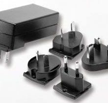 EA1030AR Series – 25W Single Output Interchangeable AC Plug Adapter
