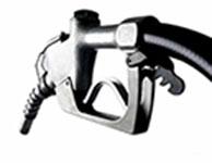 petrol pump silver