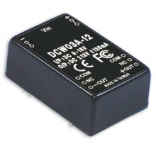 DCW03 Series – 3W DC-DC regulated Dual Output Converter