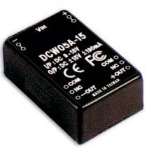 DCW05A Series – 5W 9 ~ 18V Input Regulated Dual Output DC-DC Converters